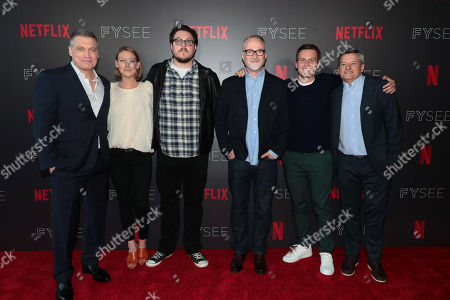 Editorial image of Netflix FYSEE 'Mindhunter' TV Show Panel, Los Angeles, CA, USA - 01 Jun 2018