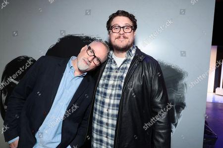Stock Photo of David Fincher, Director/Executive Producer, Cameron Britton