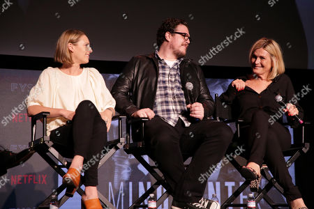 Stock Picture of Anna Torv, Cameron Britton, Laray Mayfield, Casting Director,