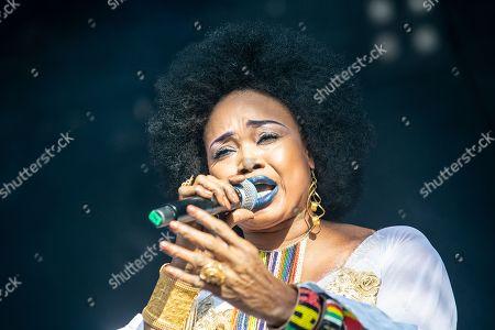 Stock Picture of Oumou Sangare
