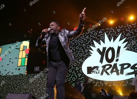 Rapper Big Daddy Kane performs at the Yo! MTV Raps: 30TH Anniversary Experience at the Barclays Center, in New York
