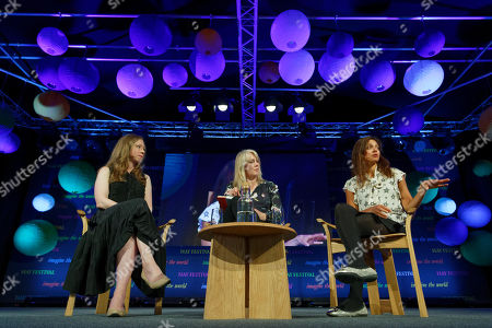 (L-R) Chelsea Clinton, Gabrielle Walker and Devi Sridhar