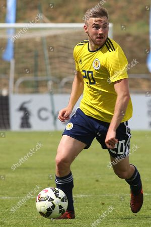 Alan Campbell of Scotland U21's in action during South Korea Under-21 vs Scotland Under-21, Tournoi Maurice Revello Football at Stade Parsemain on 2nd June 2018