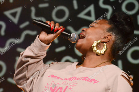 Stock Picture of Roxanne Shante
