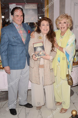 Rich Little, Donelle Dadigan and Ruta Lee