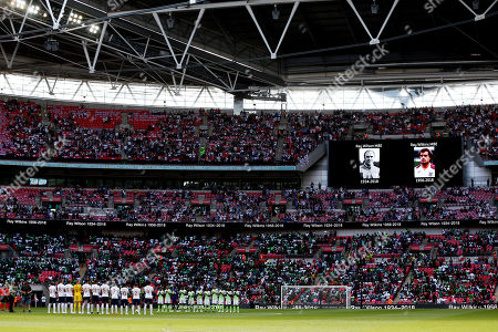 Editorial picture of England v Nigeria, International Friendly Match, Wembley Stadium, London, UK - 2 Jun 2018