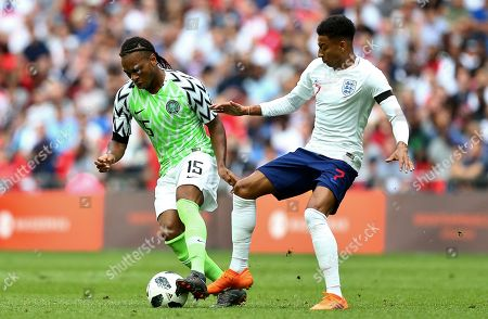 Editorial photo of England v Nigeria, International Friendly Match, Wembley Stadium, London, UK - 2 Jun 2018