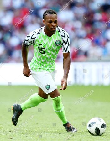 Joel Obi of Nigeria.