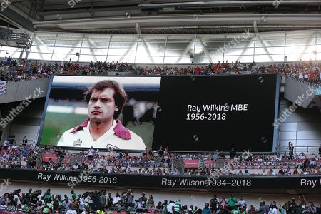 Tributes paid to late Ray Wilkins