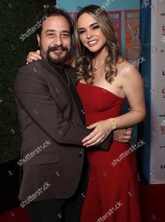 Andres Almeida and Fabiola Guajardo