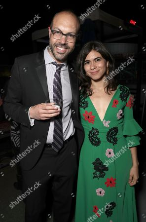 Hola Film Festival Founder/Director Samuel Douek and Sofia Espinosa