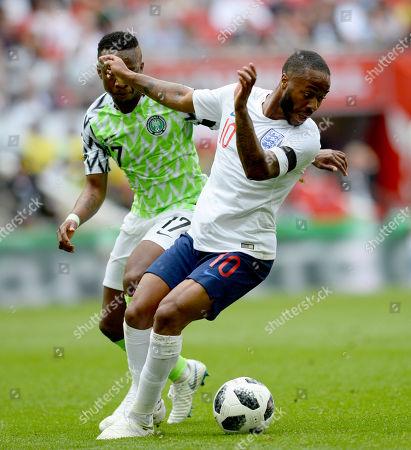 Editorial image of England v Nigeria, Football, Friendly International, Wembley Stadium, Wembley, UK - 02/06/2018