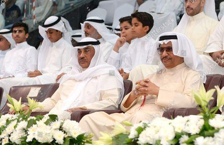 Sheikh Jaber al-Mubarak al-Sabah and Sheikh Sabah Khaled Al-Hamad Al-Sabah
