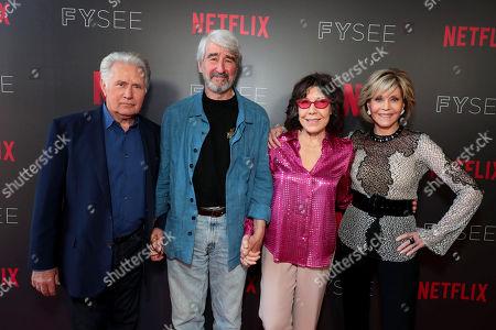 Martin Sheen, Sam Waterston, Lily Tomlin, Jane Fonda