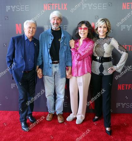 Martin Sheen, Sam Waterson, Lily Tomlin and Jane Fonda