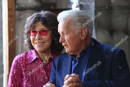 Lily Tomlin and Martin Sheen