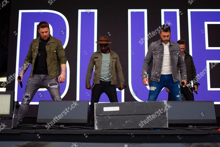 Blue - Duncan James, Simon Webbe, Lee Ryan, Antony Costa.