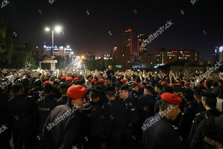 Editorial image of Protest against new income tax in Amman, Jordan - 03 Jun 2018