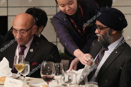 Ron Mark and Harjit Singh Sajjan