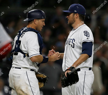 Editorial picture of Reds Padres Baseball, San Diego, USA - 02 Jun 2018
