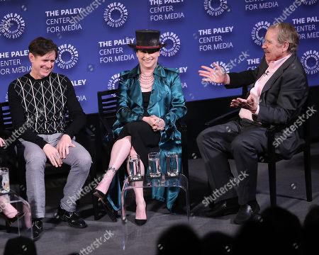 Stock Picture of Daniel Palladino, Amy Sherman-Palladino and Peter Travers