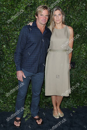 Stock Photo of Laird Hamilton and Gabrielle Reece