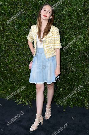 Iris Apatow attends Chanel and NRDC Host Dinner to Celebrate Our Majestic Oceans, in Malibu, Calif