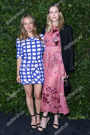 Jennifer Meyer, Sara Foster. Jennifer Meyer, left, and Sara Foster attend Chanel and NRDC Host Dinner to Celebrate Our Majestic Oceans, in Malibu, Calif