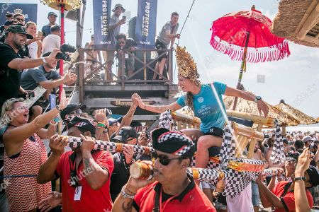 Editorial picture of Surfing WSL - 2018 Corona Bali Protected, Gianyar, Indonesia - 03 Jun 2018