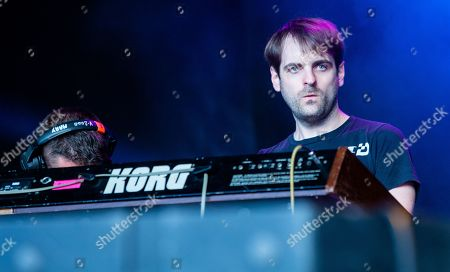 Stock Image of Jorge Elbrecht of Ariel Pink
