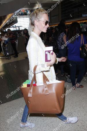 Editorial image of Poppy Delevigne at LAX International Airport, Los Angeles, USA - 01 Jun 2018