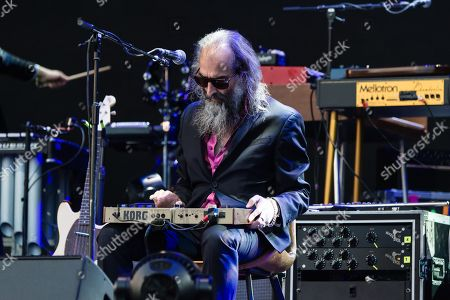 Stock Photo of Nick Cave and the Bad Seeds  - Warren Ellis