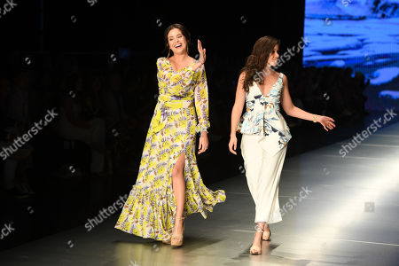 Carolina Estefan on the catwalk