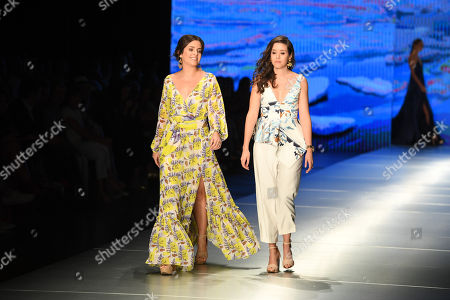 Foto editorial de Carolina Estefan show, Runway, Miami Fashion Week, USA - 02 Jun 2018