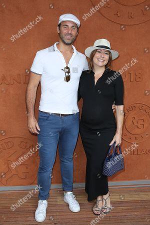 Pregnant Shirley Bousquet and husband Charles Watine