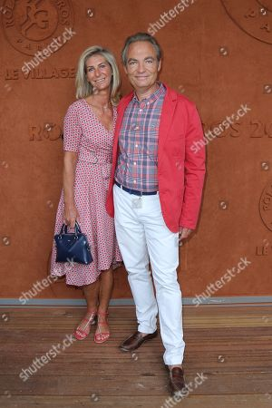 Gilles Cohen and wife Karine