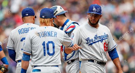 98224808211 Los Angeles Dodgers v Colorado Rockies Stock Photos (Exclusive ...