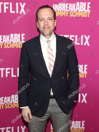 """Robert Carlock attends Netflix's """"Unbreakable Kimmy Schmidt"""" #NetflixFYSEE For Your Consideration event at the DGA Theater, in New York"""