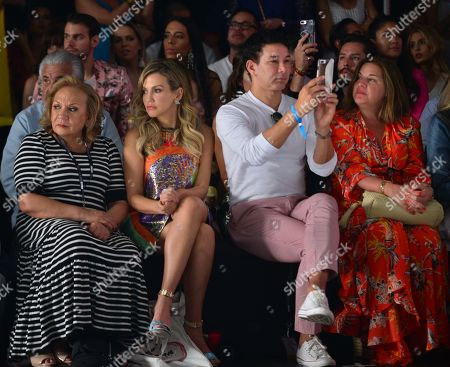 Fanny Lu and Rene Ruiz in the front row