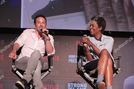 Bryan Fogel, Director/Writer/Producer of Icarus, Dawn O'Porter, Director/Executive Producer of Bobby Kennedy for President,
