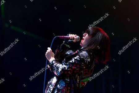 Yeah Yeah Yeahs lead singer Karen O