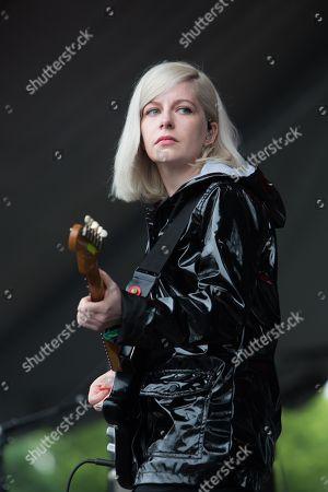 Alvvays lead singer Molly Rankin