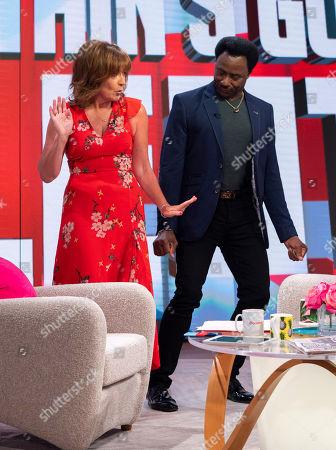 Editorial image of 'Lorraine' TV show, London, UK - 04 Jun 2018