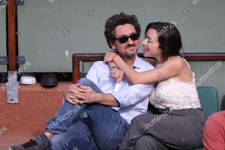 David Foenkinos and girlfriend