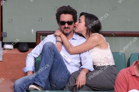Stock Picture of David Foenkinos and girlfriend