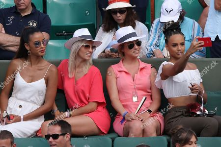 Editorial picture of Celebrities at Roland Garros, Tennis French Open, Paris, France - 03 Jun 2018
