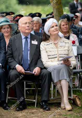 Lord Julian Fellowes and Emma Fellowes