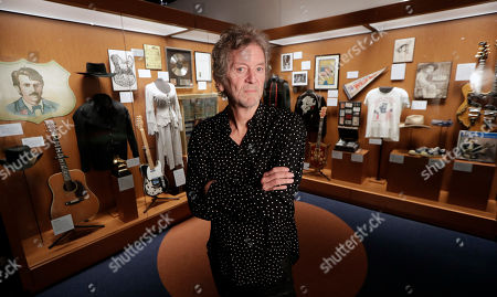 Rodney Crowell is shown at the Outlaws & Armadillos exhibit at the Country Music Hall of Fame and Museum in Nashville, Tenn. Crowell, who came to Nashville in the '70s, said the era was a period of creative freedom from the constraints of Nashville's traditional recording styles