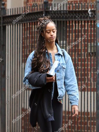 Editorial photo of Malia Obama out and about, New York, USA - 04 Jun 2018