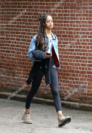 Editorial image of Malia Obama out and about, New York, USA - 04 Jun 2018